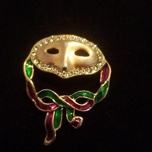Jewelry - Mardi Gras pendant